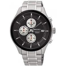 Beli Seiko Chronograph Jam Tangan Pria Silver Stainless Steel 54S Murah