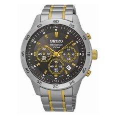Spesifikasi Seiko Chronograph Jam Tangan Pria Sks525P1 Stainless Steel Silver Black Yg Baik