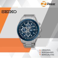 Spesifikasi Seiko Chronograph Jam Tangan Pria Tali Stainless Steel Ssb177P1 Online
