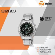 Seiko Criteria Jam Tangan Pria Solar Chronograph - SSC0 Series PROMO