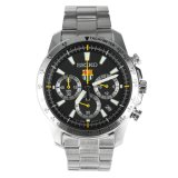Spesifikasi Seiko Fc Barcelona Chronograph Jam Tangan Pria Hitam Strap Stainless Steel Ssb073P1 Beserta Harganya