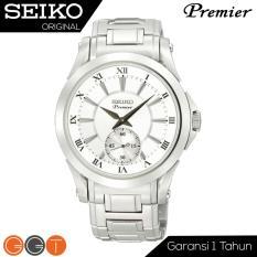 Seiko Premier SRK019P1 Stainless Steel Case - Jam Tangan Pria - Quartz Movement - Silver