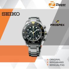 Seiko Prospex Sea Jam Tangan Pria Solar Chronograph Divers 200M Ssc61 Series Asli