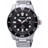 Model Seiko Prospex Sne437P1 Solar Divers Jam Tangan Pria Silver Black Terbaru