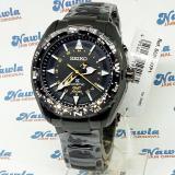 Seiko Prospex Sun047P1 Kinetic Gmt Black Bracelet Jam Tangan Pria Sun047 Original