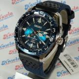 Diskon Besarseiko Prospex Sun059P1 Kinetic Gmt Blue Leather Jam Pria Sun059