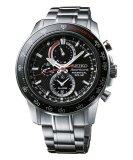 Seiko Sportura Perpetual Solar Chronograph Ssc357 Jam Tangan Pria Silver Terbaru