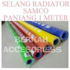 Selang Radiator Samco panjang 1meter biru