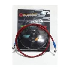 Slang Selang Rem Disc Cakram Depan Scarlet Racing 120Cm