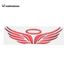 Perekat Mobil Sayap Malaikat Stiker Mobil 3D Mobil Tubuh Stiker Stiker Balap-Intl