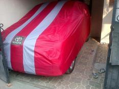Selimut Mobil Terbaru / Cover Body Toyota Kijang Inova / Medium MPV 2-Garis