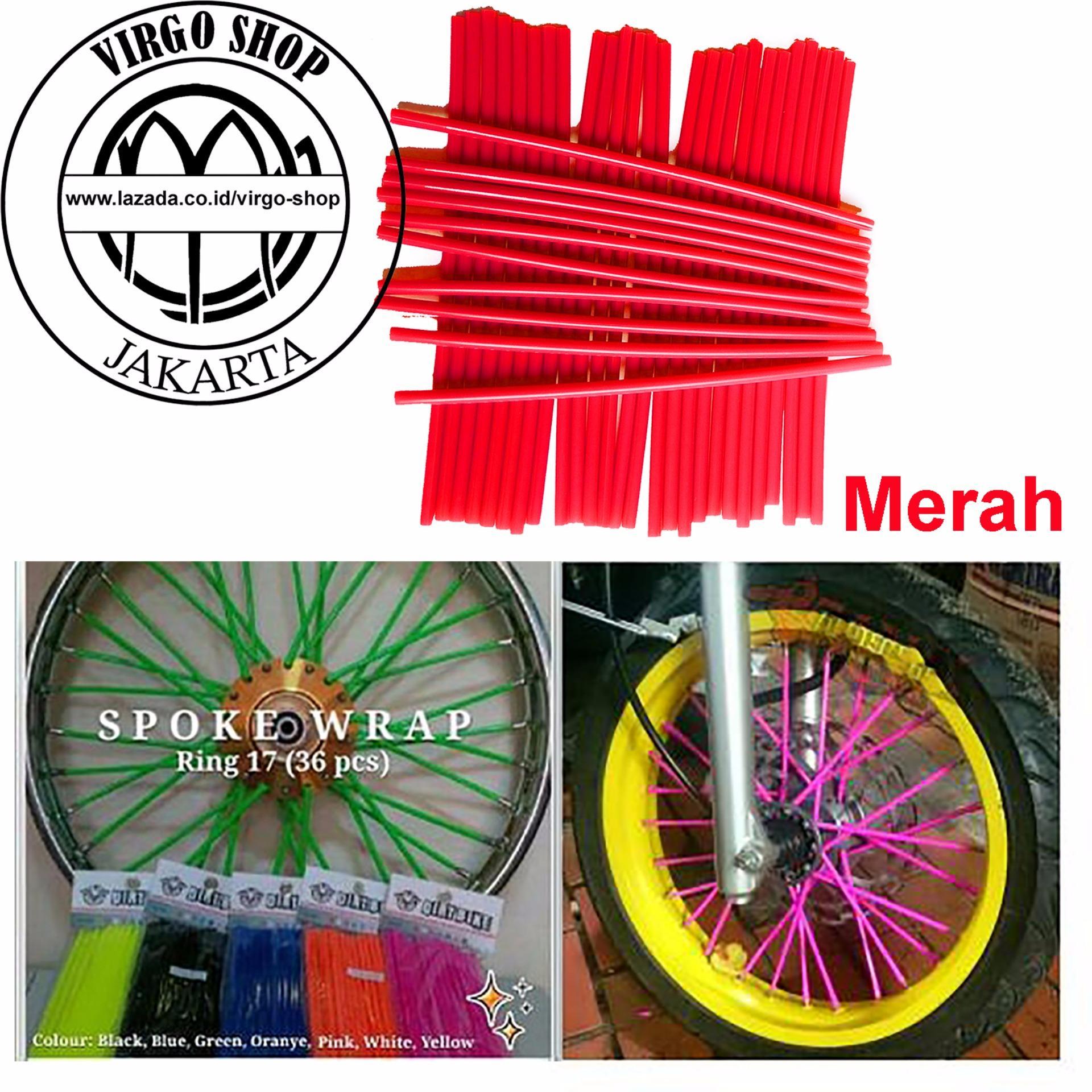 Buy Sell Cheapest Velg Vosen Vps1 Best Quality Product Deals Wheel Protector Hitam Pelindung List Universal Selongsong Jari Motor Sedotan Merah