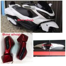 Sepaket Side Box/Box Samping Dan Spion Lipat+Sen Led New Pcx 150