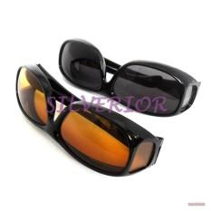 Sepasang Kacamata Anti Silau Siang Malam Mata Minus ataupun Mata Normal