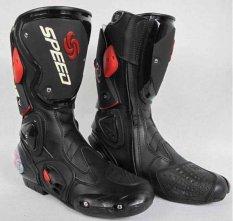 Sepatu Speed Biker High - Hitam