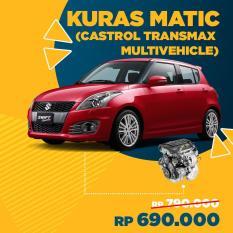Servis Kuras Matic Mobil (Castrol Transmax Multivehicle) + Free Check-up 58 Komponen kendaraan