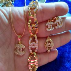 Set Chanelll Rantai Gold Indonesia Diskon