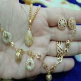 Spesifikasi Set Donat Gold Xuping Cantik Paling Bagus