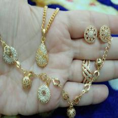 Jual Set Donat Gold Xuping Cantik Import