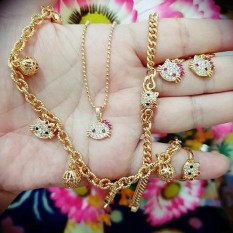 Set Kitty Anak Cantik Lengkap Xuping Gold By Confection_cuties.