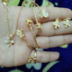 Beli Set Kupu2 Cantik Xuping Gold Cicilan