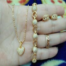 Set Love Cantik Xuping Gold Indah Xuping Jewelry Murah Di Indonesia