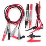 Cuci Gudang Set Of 8 Test Clips Leads Kit Banana Tester Probe For Fluke Multimeter Intl