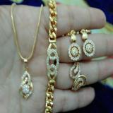 Review Set Perhiasan Cantik Xuping Gold Xuping Jewelry Di Indonesia