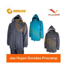 Setelan Jas Hujan Gore-Tex Pro-Camp Raincoat for Outdoor,hiking,motor