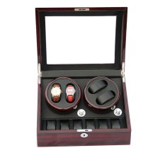 Spesifikasi Setsu Automatic Watch Winder 4 6 Pemutar Jam Tangan Otomatis 10 Jam Tangan Merah Yang Bagus
