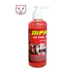 Spesifikasi Shampo Kucing Dipa Anti Kutu Jamur Tic Flea Aroma Strawberry Bagus