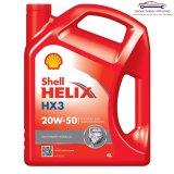Harga Shell Helix Hx3 20W 50 Pelumas Oli Mesin Mobil Bensin 4 Liter Seken
