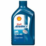 Jual Shell Oli Mesin Advance Ax7 4 Tak 10W40 8L Shell Ori