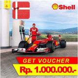 Harga Shell Voucher Bbm Mobil Rp 1 000 000 10 Pcs X Rp 100 000 Shell Ori