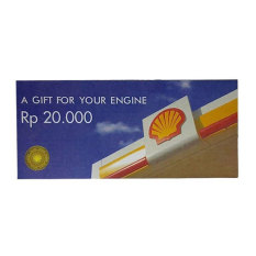 Spesifikasi Shell Voucher Bbm Motor Rp 500 000 25 Pcs X Rp 20 000 Paling Bagus