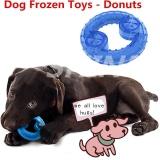 Toko Shine Anjing Mengunyah Gigitan Makanan Mainan Beku Pet Cooling Mainan Pet Puzzle Mainan Tulang Membentuk Biru Intl Online Terpercaya