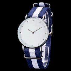 Harga Bersinar Nilon Ultra Tipis Watch Casual Fashion Couple Bertabur Berlian Gold Watch Pria Dan Wanita Model Biru Intl Yang Murah