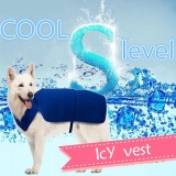 Toko Shine Pet Cooling Clothes Dog Cooling Vest Summer Summer Artifacts Blue Intl Yang Bisa Kredit