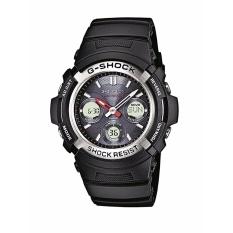 【Ship dari Jepang】 Casio AWG-M100-1AER Mens G-shock Olahraga Watch-Intl