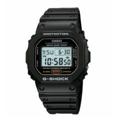 【Ship dari Jepang】 CASIO G-G-SHOCK Kecepatan Model Dasar Hitam DW-5600E-1 MEN's Wrist Watch-Intl