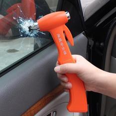 Shunwei SD-3501 Kursi Sabuk Pemotong Jendela Breaker Otomatis Rescue Alat Plastik Ideal Shell Mobil Keamanan Emergency Palu dengan Pita Perekat dan Fiksasi Bingkai (Oranye) -Internasional