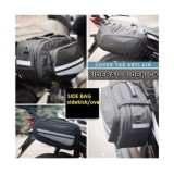 Jual Promo Tas Samping Motor Side Bag Oval Branded Murah