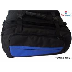 Sidebag Motor Side Bag Side Kick Oval Tas Samping Motor Waterproof Funcover Biru By Lbagstore2.