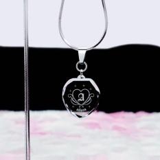 Signature Aileen - Kalung Cewek Liontin Aksesoris Titanium Kado Unik Hadiah Ultah Ulang Tahun Pacar Kristal