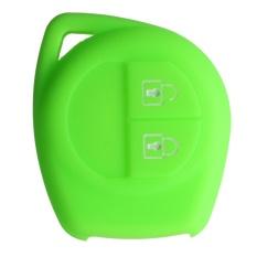 Penutup Silikon Cocok untuk SUZUKI SX4 Alto Swift Jimny Grand Vitara Remote Key 2 BTN (Hijau)-Intl