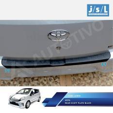 Sillplate Belakang Hitam JSL Mobil / Rear Scuff Plate Black Agya