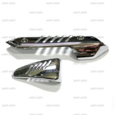 Harga Silver Honda Beat Fi Scoopy Vario 110 Esp Pop Cover Filter Tutup Pelindung Muffler Knalpot Universal