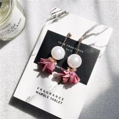 Jual Beli Kepribadian Sederhana Bunga Ditiru Pearl Liontin Earrings Fashion Temperamen Elegan Earrings Intl Tiongkok