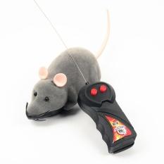 Spesifikasi Simulasi Plush Mouse Dengan Remote Control Nirkabel Elektronik Mainan Untuk Kucing Intl Baru