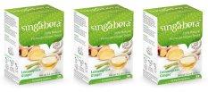 Jual Singabera 100 Natural Premium Ginger Drink Lemongrass Ginger 3 Box Antik